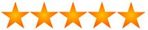 5 Sterne fuer Banner Druck und Lieferung